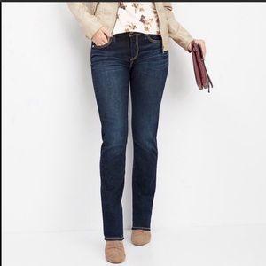 Silver Jeans Dark Wash Berkley Straight Leg 28/32
